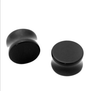 2gauge plugs ( black)